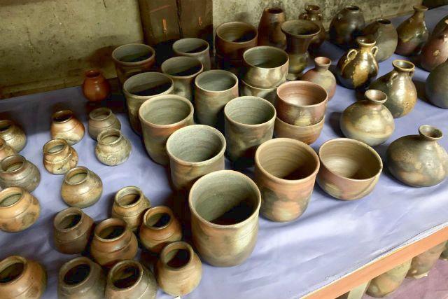 【岡山・備前市・陶芸体験】日本六古窯の一つ・備前焼を作る土ひねり体験!抹茶椀など