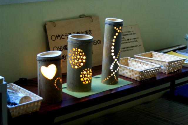 【鳥取・竹細工】日常に癒しの灯り。竹とうろう作り