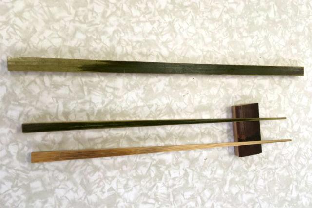【鳥取・竹細工】天然オイルで長持ち!竹箸作り