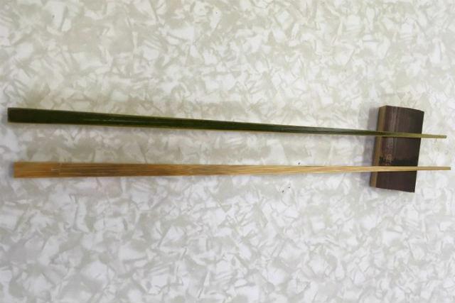 【鳥取・竹細工】体験後は温泉でリフレッシュ!竹箸作り