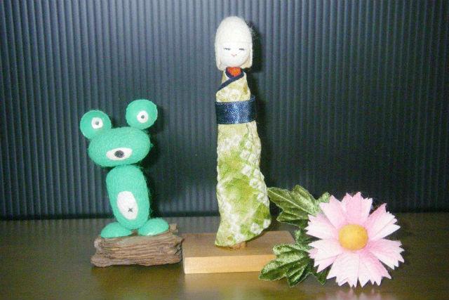 【徳島・美馬・手作り雑貨】お手軽繭クラフト!動物や人形を作ろう