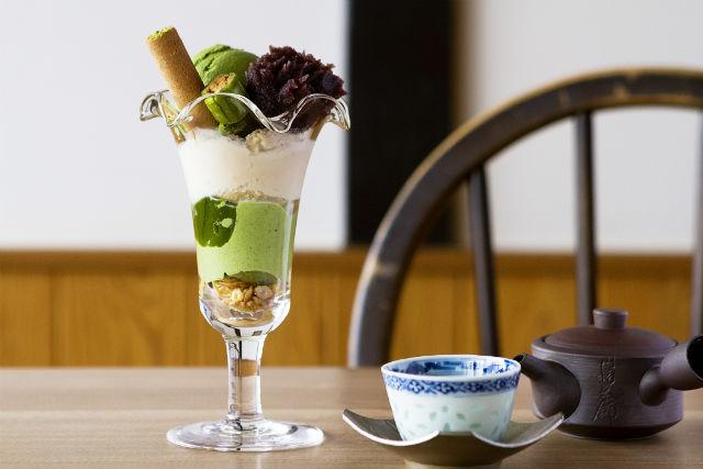 【大分・中津・着物レンタル】和カフェの抹茶スイーツセット付き!着物レンタル