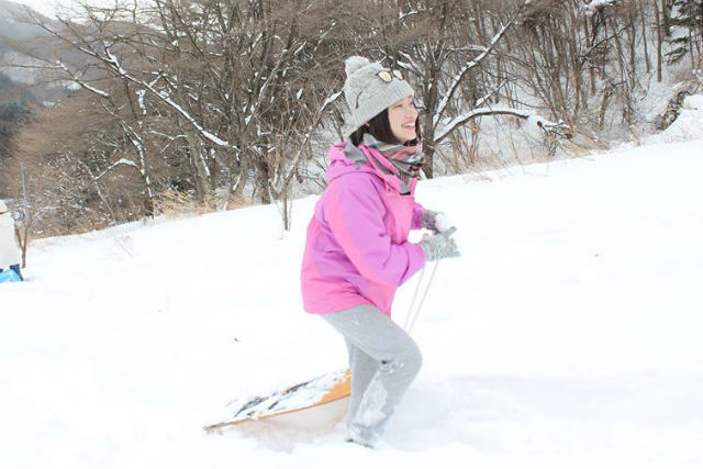 【みなかみ・スノーシュー】お手軽スノーシュー!初めての雪体験を里山雪遊びツアーで!