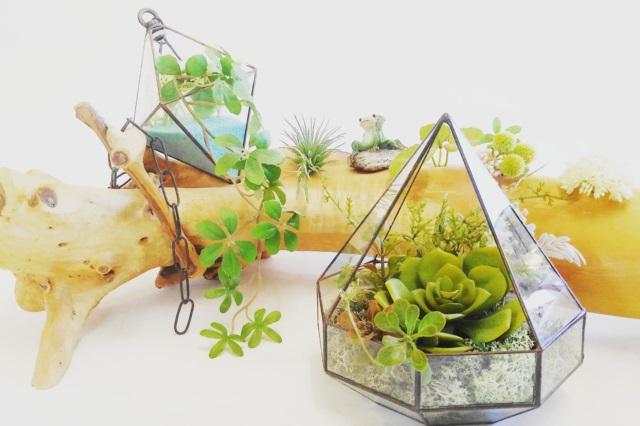 【奈良・ステンドグラス作り】ステンドグラスでつくるテラリウム
