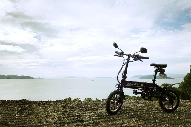 【愛媛・松山・サイクリング】フェリーに乗って島へ行こう!島内を自由に散策(レンタルバイク)