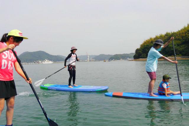 【広島・尾道・SUP】瀬戸内海上をゆっくりお散歩!気軽にSUP体験