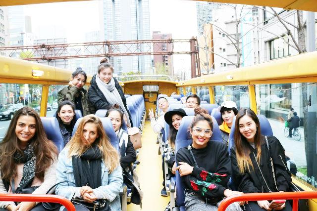 【大阪・なんば・バスツアー】大阪の名所を陸上と水上でぐるりと周遊!ループバスとクルーズプラン