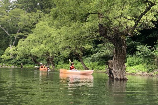 【長野・千曲川・一人乗りカヌー】日本一長い川・千曲川で、初めてのカヌーツーリング
