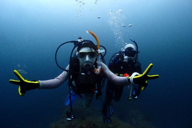 静岡・熱海・体験ダイビング(約2時間)