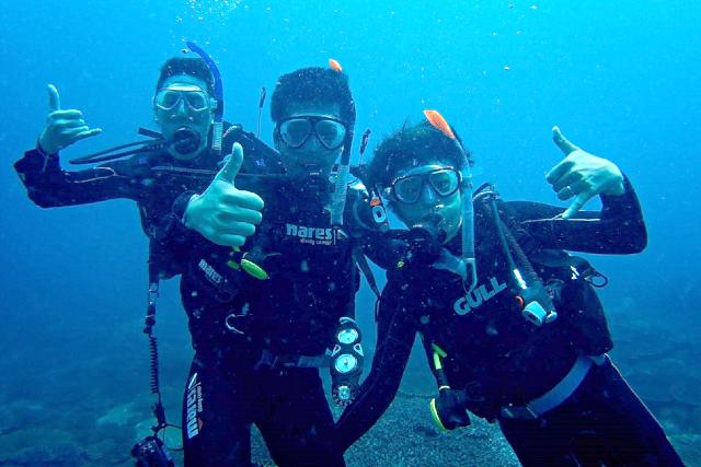 【松山発着・柏島で体験ダイビング】国内有数のダイビングスポット柏島で体験ダイビング