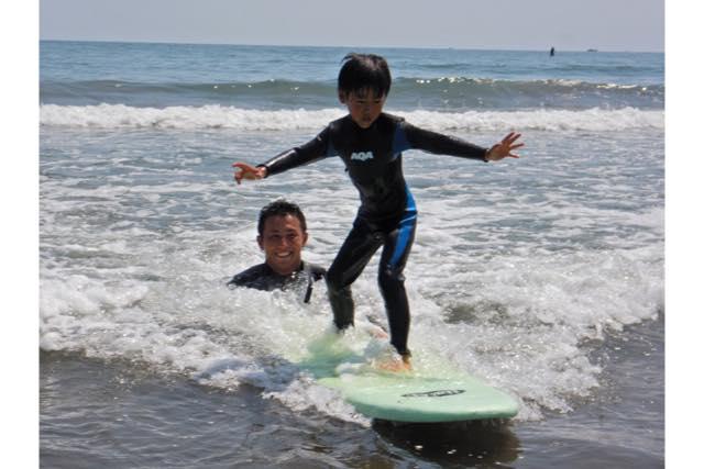 【宮崎県・宮崎市・サーフィン】一緒にチャレンジ!青島海岸で親子サーフィンスクール