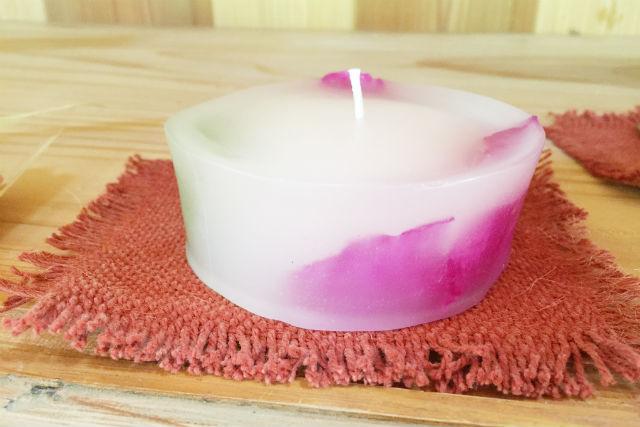 【岡山・高梁・キャンドル作り】古民家で愉しむ!芍薬の花びらを使ったオリジナル花ろうそく作り