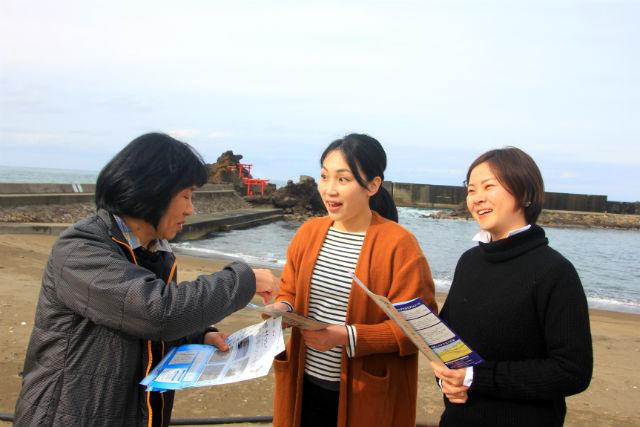 【新潟・柏崎・エコツアー】まち歩き後のコーヒー付き!笠島まち歩きプラン