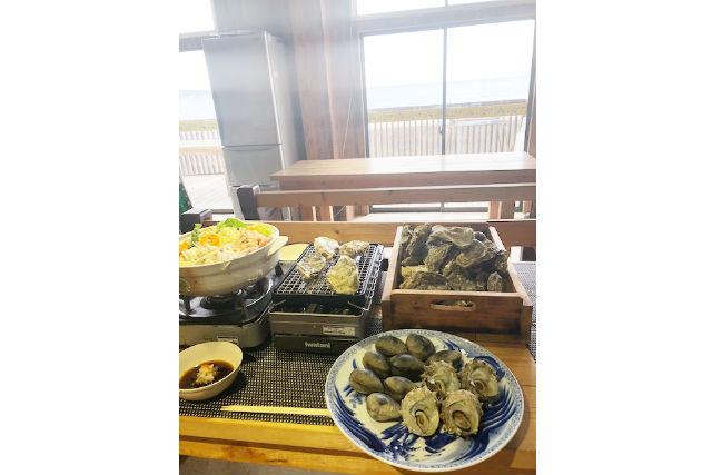 エスライド 海鮮牡蠣小屋