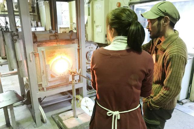 【徳島・吹きガラス】オリジナリティある仕上がりに!吹きガラス体験