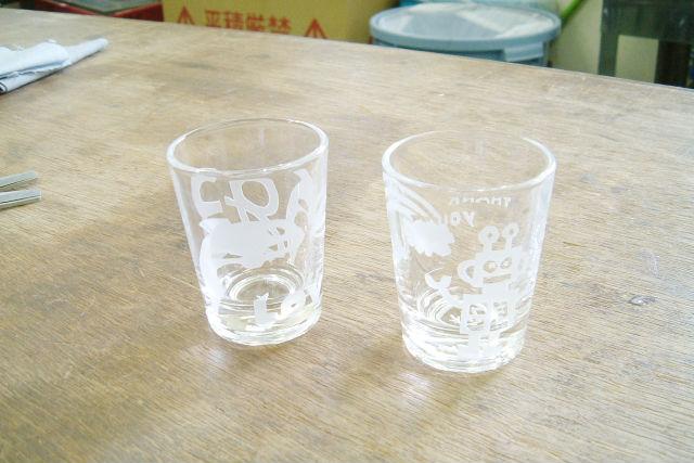 【徳島・サンドブラスト】砂で彩るガラス作品!サンドブラスト体験
