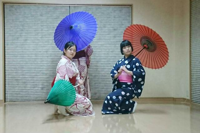 【和歌山・日本舞踊】6歳からの日本舞踊体験(浴衣レンタル付き)