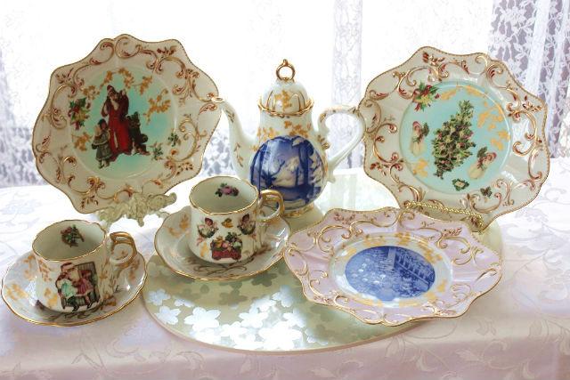 【宮城・仙台・ポーセラーツ】オリジナル食器を作ろう!ポーラーツ体験(皿・マグカップ)