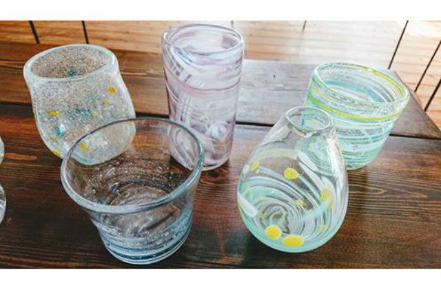 【島根・出雲・吹きガラス体験】マンツーマン!吹きガラス体験(グラス、小鉢など)