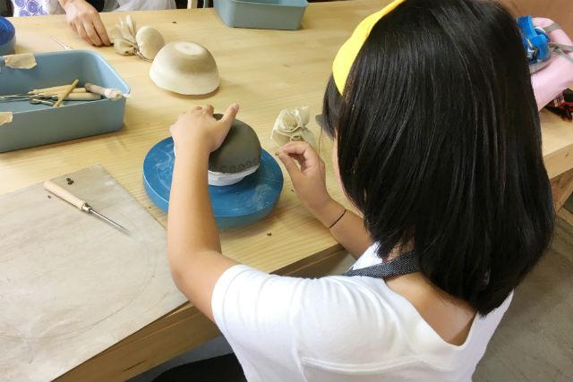 【三重・菰野町・手びねり】たたら成形でお皿作り(1時間30分)