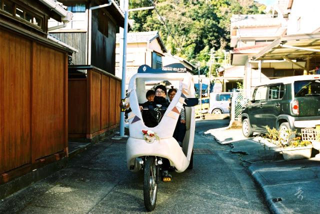【和歌山・新宮・ベロタクシー】新宮旧市内の名所をベロタクシーで巡る2時間!