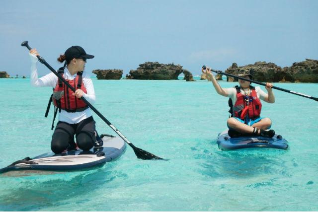 【鹿児島・与論島・SUP】絶景の海でのんびりクルージング!SUPツアー