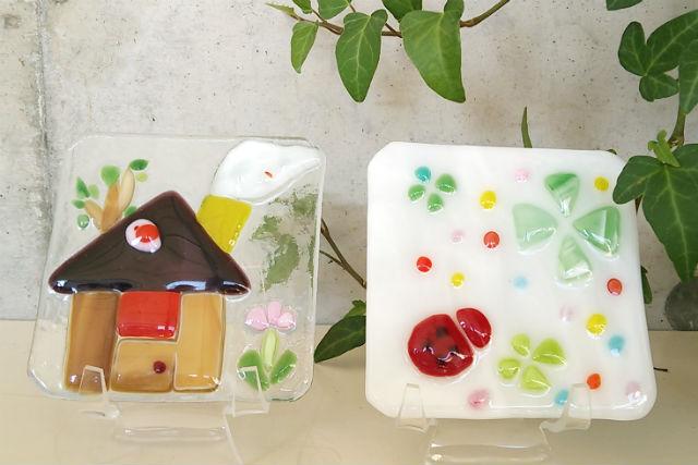 【鳥取・ガラス細工】ガラスで絵を描くように、オリジナルのパネルを作ろう!