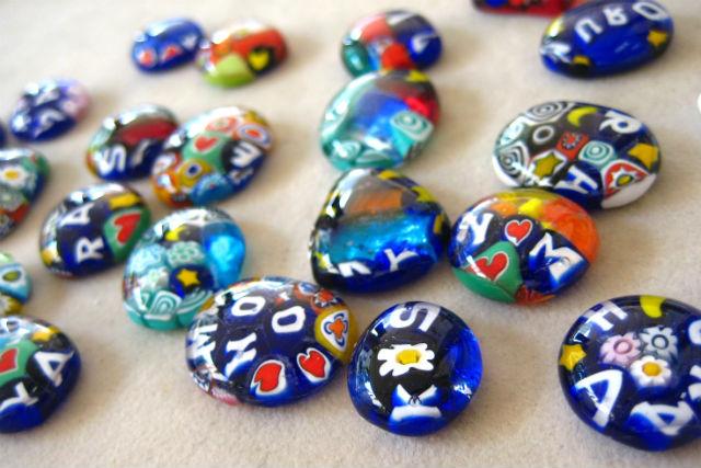 【鳥取・ガラス細工】お花の様なベネチアンガラスを使って小さなフュージングアクセサリーを作ろう!