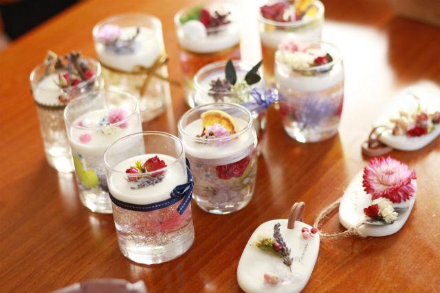 【岡山・倉敷・手作りキャンドル】かわいく香るお部屋のアクセント!アロマワックスカップ
