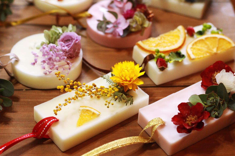 【岡山・倉敷・手作りサシェ】好きな香りで作ろう!ボタニカルアロマワックスサシェ