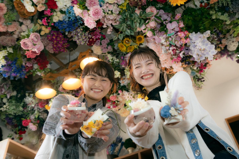 【岡山・倉敷・手作りサシェ】アロマワックスカップ&ボタニカルアロマワックスサシェ