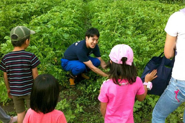 【群馬・農業体験】かたしな高原でのびのび満喫!ミッフィー農園・収穫体験