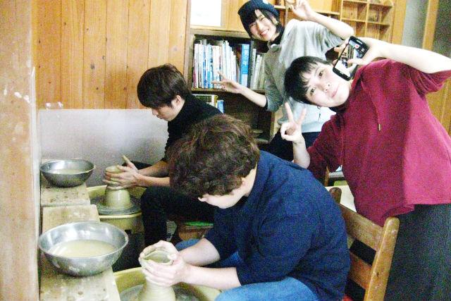 【山口・陶芸体験】手びねり&電動ろくろをセットで満喫!陶芸体験コース