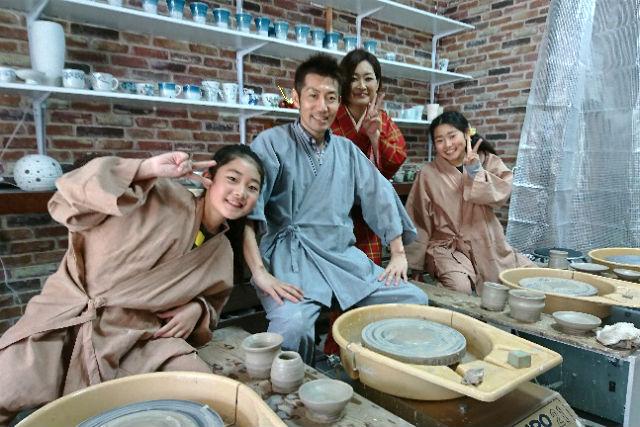 【佐賀・有田焼体験】電動ロクロで職人気分!有田の土で作る自分だけの器