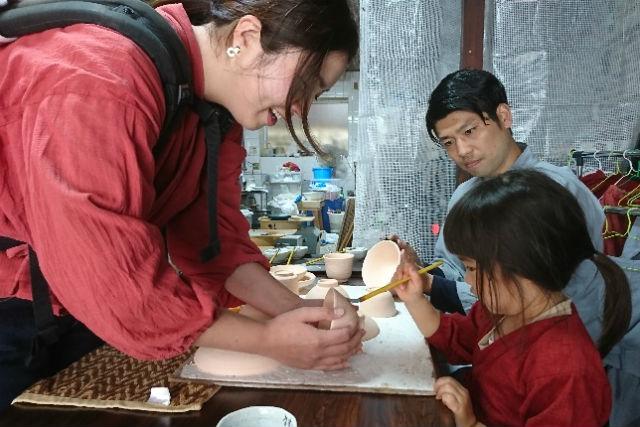 【佐賀・有田焼体験】有田焼専門の絵具が使える!有田焼の絵付け体験