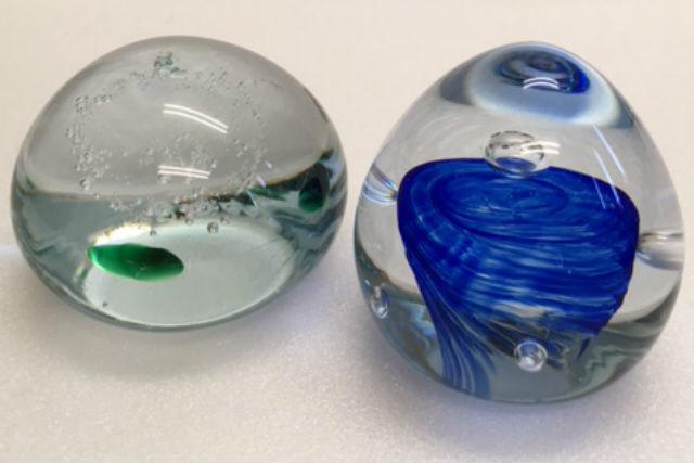 【富山・ガラス細工】丸くてかわいいガラス作品!ペーパーウェイト制作体験