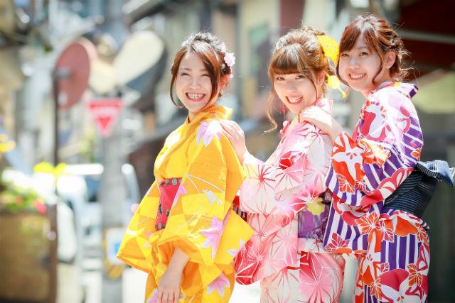 【広島・レンタル着物】和風美人に変身!着物・浴衣レンタルプラン