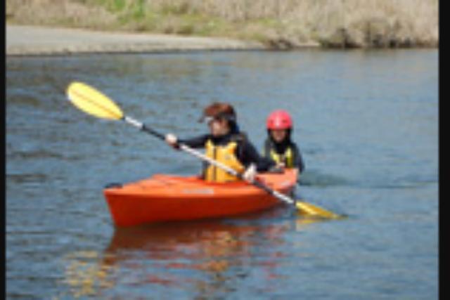 【熊本・御船町・カヌー】お子様や初心者の方でも楽しく遊べる!カヌー体験