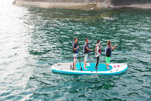 【和歌山・SUP】みんなで漕げば楽しさ倍増!メガSUP体験