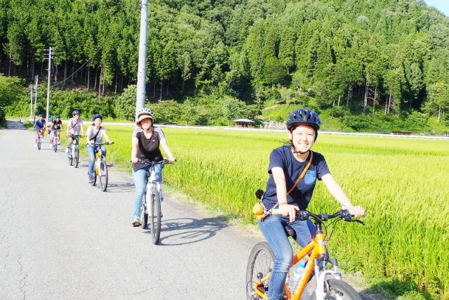 【岐阜・飛騨古川・サイクリング】里山の魅力を気軽に満喫。ハーフサイクリングツアー