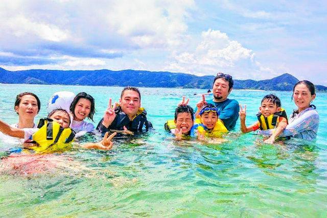【鹿児島・奄美・シュノーケル】奄美で一番美しい土盛海岸!感動シュノーケリング体験