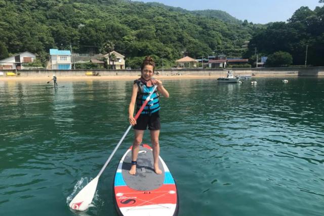 【広島・福山・SUP】瀬戸内の穏やかな海をクルージング。SUP体験