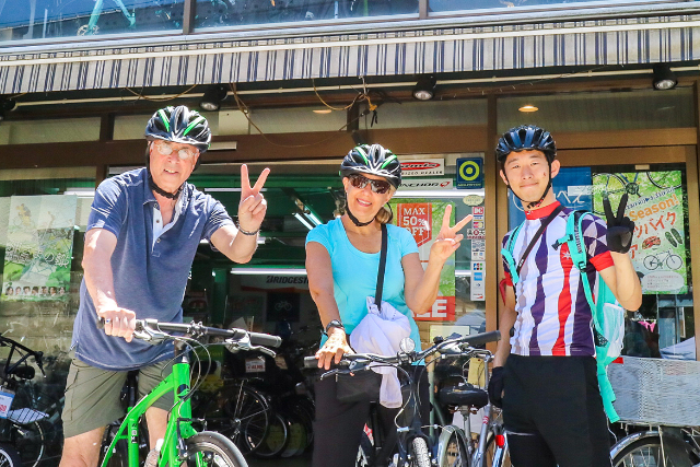 【京都府・京都市・サイクリング】有名ブランドスポーツバイクで京都サイクリング体験