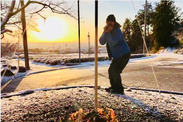 【岐阜・大垣・キャンプ】秋空や雪景色の中で非日常を体験!秋冬キャンプ・テント泊