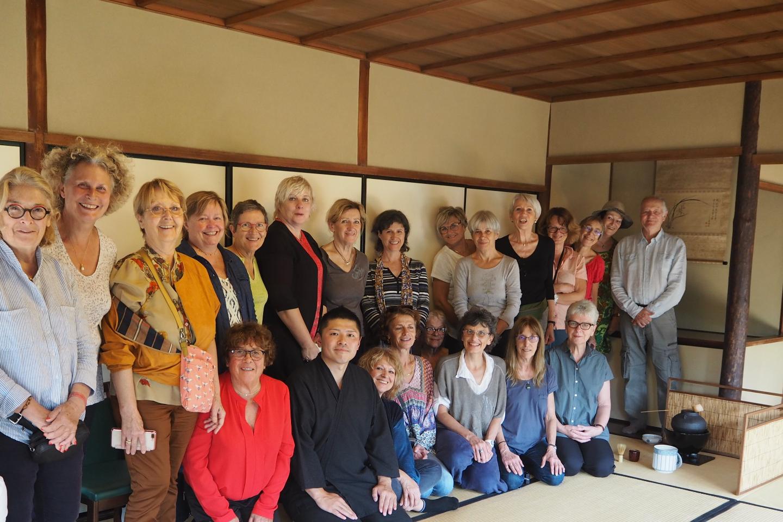 【京都府・京都市・茶道体験】日本文化教室 資格のある茶道家による稽古