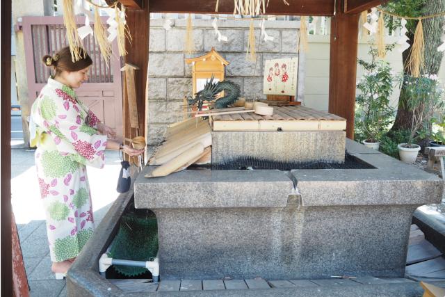 【大阪府・大阪市・着付け体験】浴衣を長く楽しめる!浴衣購入&着付け体験