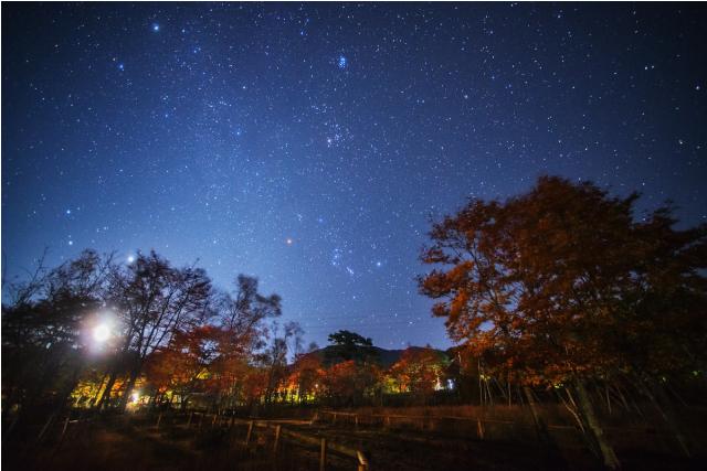 日本一の星空 浪合パーク