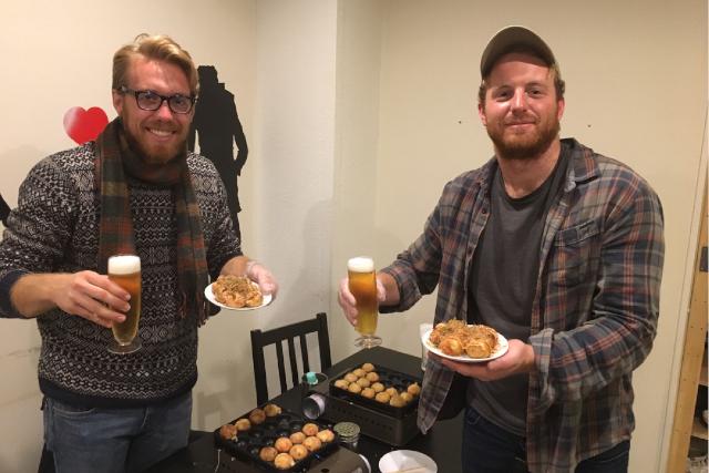 【大阪府・大阪市・料理教室】自分で作る楽しさ!たこ焼き食べ放題+ワンドリンク