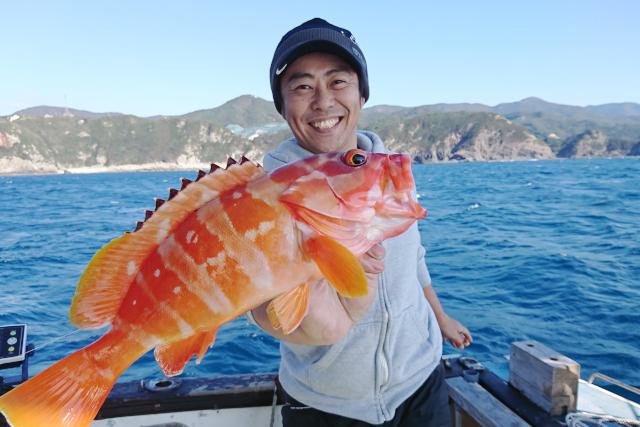 【和歌山・すさみ・海釣り】カサゴ〜マダイまで狙える!ロックフィッシュ、テンヤ釣り