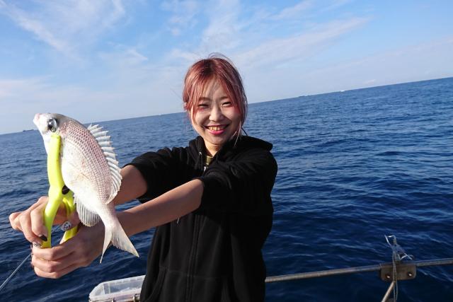 【和歌山・すさみ・海釣り】ゲーム感覚で楽しめる人気プラン!タイラバ、テンヤ釣り